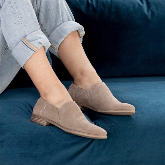 Toms Shaye Desert Taupe Low Bootie